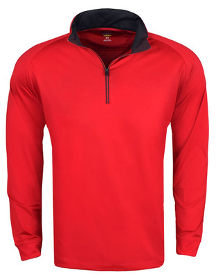 Greg Norman Golf- Play Dry 1/4 Zip Performance Mock Pullover