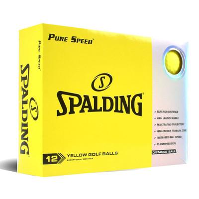 Spalding Pure Speed Golf Balls