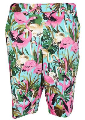 Loudmouth Golf- Pink Flamingos Shorts