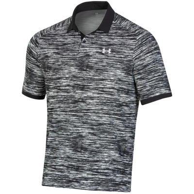 Under Armour Golf Performance Iso-Chill Abe Twist Polo Chest Logo