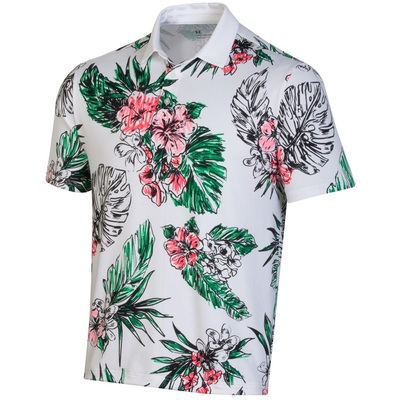 Under Armour Golf- Playoff 2.0 Laurel Floral Polo