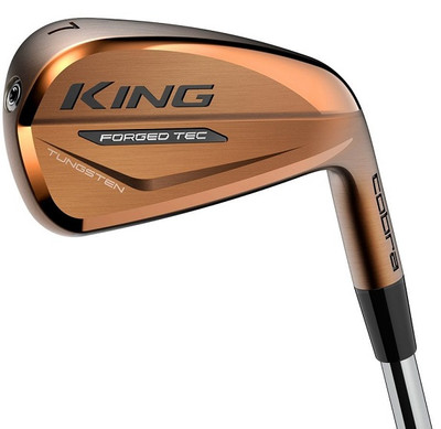 Cobra Golf- LH King Forged TEC Copper Irons (7 Iron Set) Left Handed