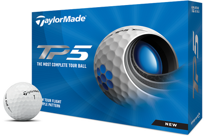 TaylorMade TP5 Golf Balls LOGO ONLY