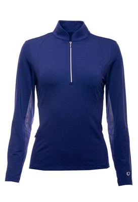 IBKÜL Golf- Ladies Long Sleeve Collagen Mock