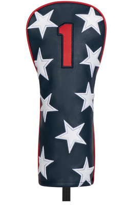 Titleist Golf- Stars & Stripes Leather Driver Headcover