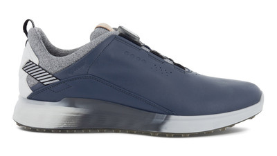 Ecco Golf S-Three Shoes BOA Spikeless Shoes
