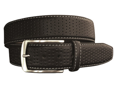 Greg Norman Golf- Leather Belt