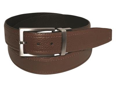 Greg Norman Golf- Reversible Leather Belt