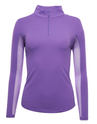 IBKUL Golf- Ladies IceFil Long Sleeve Mock