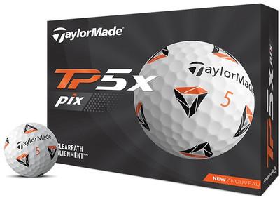 TaylorMade TP5x pix Golf Balls