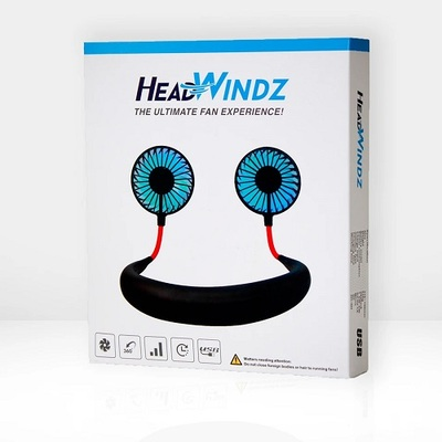 GolfBuddy Headwindz Hand-Free Cooling Fan
