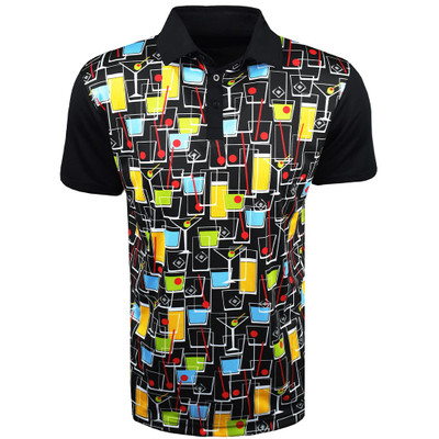 Loudmouth Golf- Fancy Happy Hour Shirt