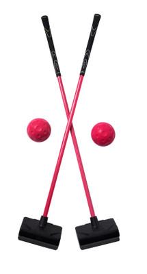 Yolf Golf- Pink Club/Ball Combo (2 Pack)