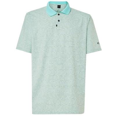 Oakley Golf- Jacquard Stripe Polo