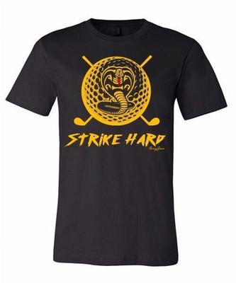 Swing Juice Golf- Strike Hard Short Sleeve Shirt