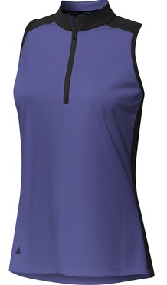Adidas Golf- Ladies Primeblue Colorblock Racerback Shirt
