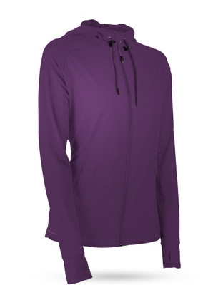 Sun Mountain Golf- Ladies Second Layer Hooded Jacket