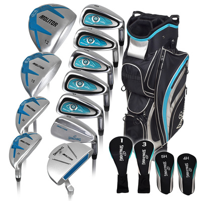 Spalding Golf- Ladies Molitor Complete Set With Bag