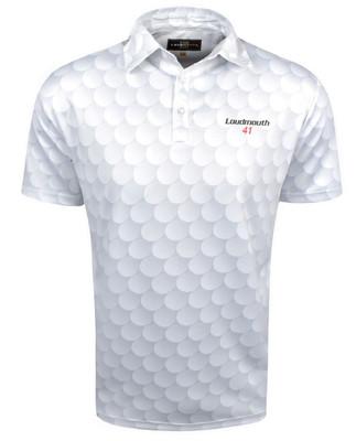 Loudmouth Golf- Fancy Big Golf Ball Shirt