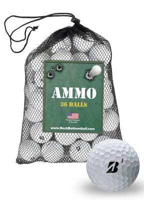 Bridgestone Tour B X Fair Used Golf Balls [36-Ball]