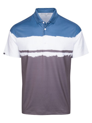 Matte Grey Golf- Rothko Polo