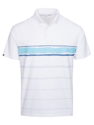 Matte Grey Golf- Rockwell Polo