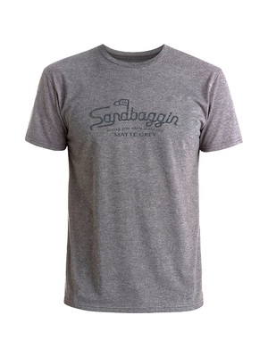 Matte Grey Golf Sandbaggin T-Shirt