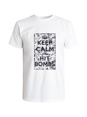 Matte Grey Golf Hit Bombs T-Shirt