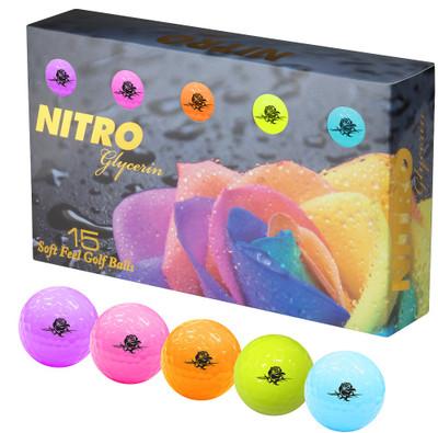 Nitro Glycerin Golf Balls 15-Pack