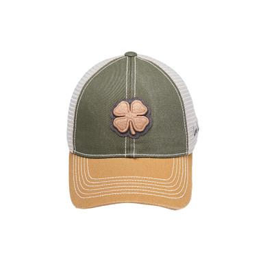 Black Clover Golf Two-Tone Vintage #17 Hat