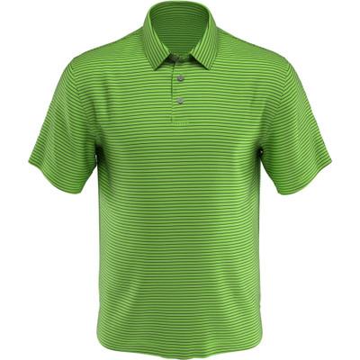 PGA Tour Golf- Short Sleeve Single Feeder Stripe Polo