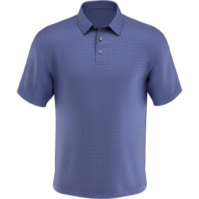 PGA Tour Golf- Short Sleeve Mini Window Pane Polo