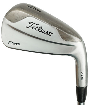 Pre-Owned Titleist Golf T-MB 716 Irons (5 Iron Set)