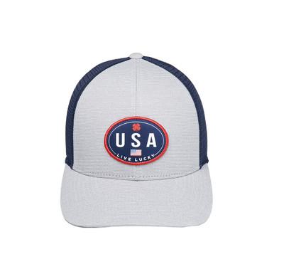 Black Clover Golf- Oval Office Snapback Hat