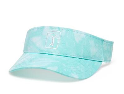 PGA Tour Golf Ladies Tie-Dye Visor