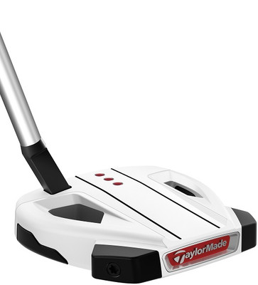Pre-Owned TaylorMade Golf Spider EX White Short Slant Putter