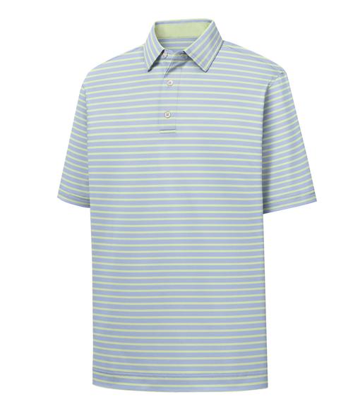 FootJoy Golf- ProDry Lisle 2 Color Stripe Polo