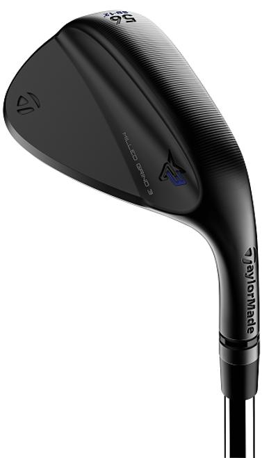 TaylorMade Golf- LH Milled Grind 3 Wedge Black (Left Handed)