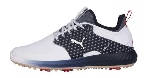 Puma Golf- Limited Edition Ignite PWRAdapt Caged Team USA Shoes