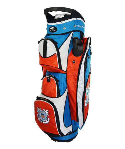 Hot-Z Golf US Military Cart Bag Coast Guard