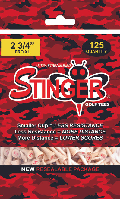 Stinger Tees- Pro XL Golf Tees