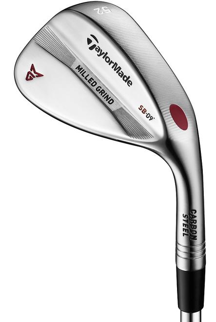 TaylorMade Golf- LH Milled Grind Wedge Satin Nickel Chrome (Left Handed)