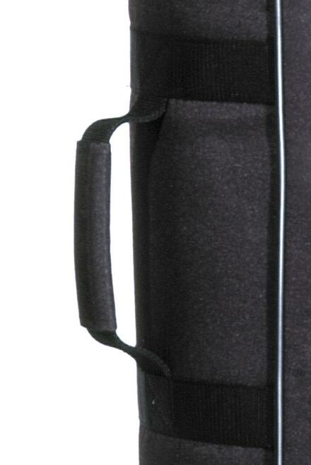 Golf Travel Bags- Executive 3 Bag Cover Case Black