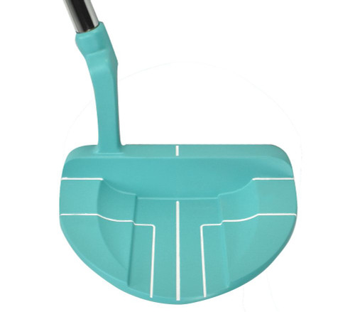 Ray Cook Golf- Ladies Silver Ray SR300 Limited Edition Teal Putter