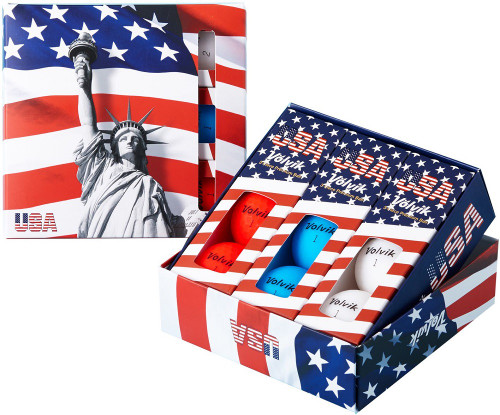 Volvik Vivid USA Special Edition Golf Balls