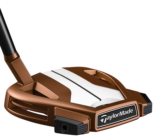 TaylorMade Golf- LH Spider X Copper/White Small Slant With SightLine Putter (Left Handed)