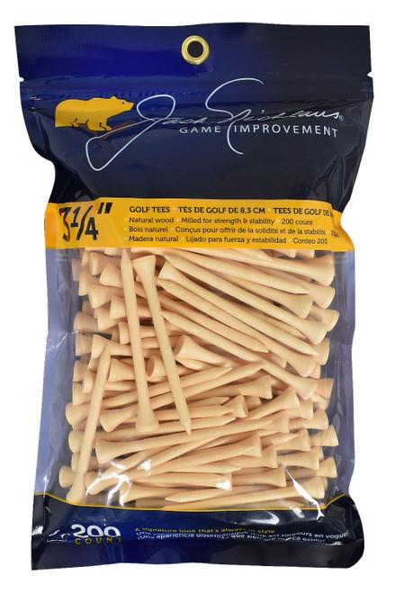 "Jack Nicklaus Golf- Game Improvement 3 1/4"" Tees (200 Pack)"
