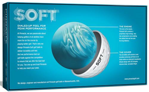 Pinnacle Soft Golf Balls 15-Ball Pack | RockBottomGolf com