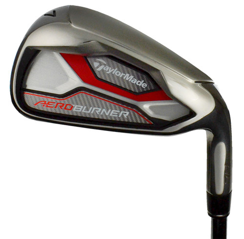 Pre-Owned TaylorMade Golf AeroBurner HL Irons (8 Iron Set)