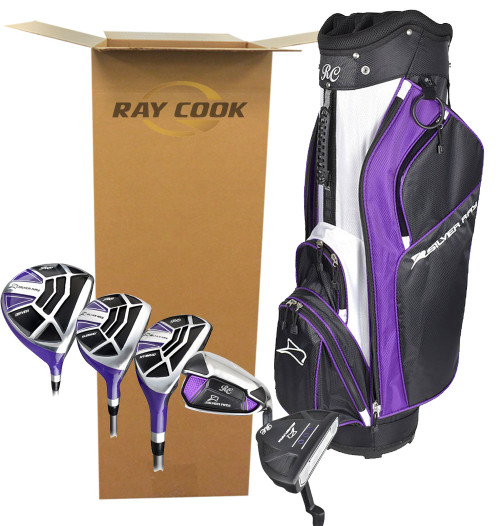 Ray Cook Golf- Ladies Silver Ray Complete Set With Bag *Open Box*
